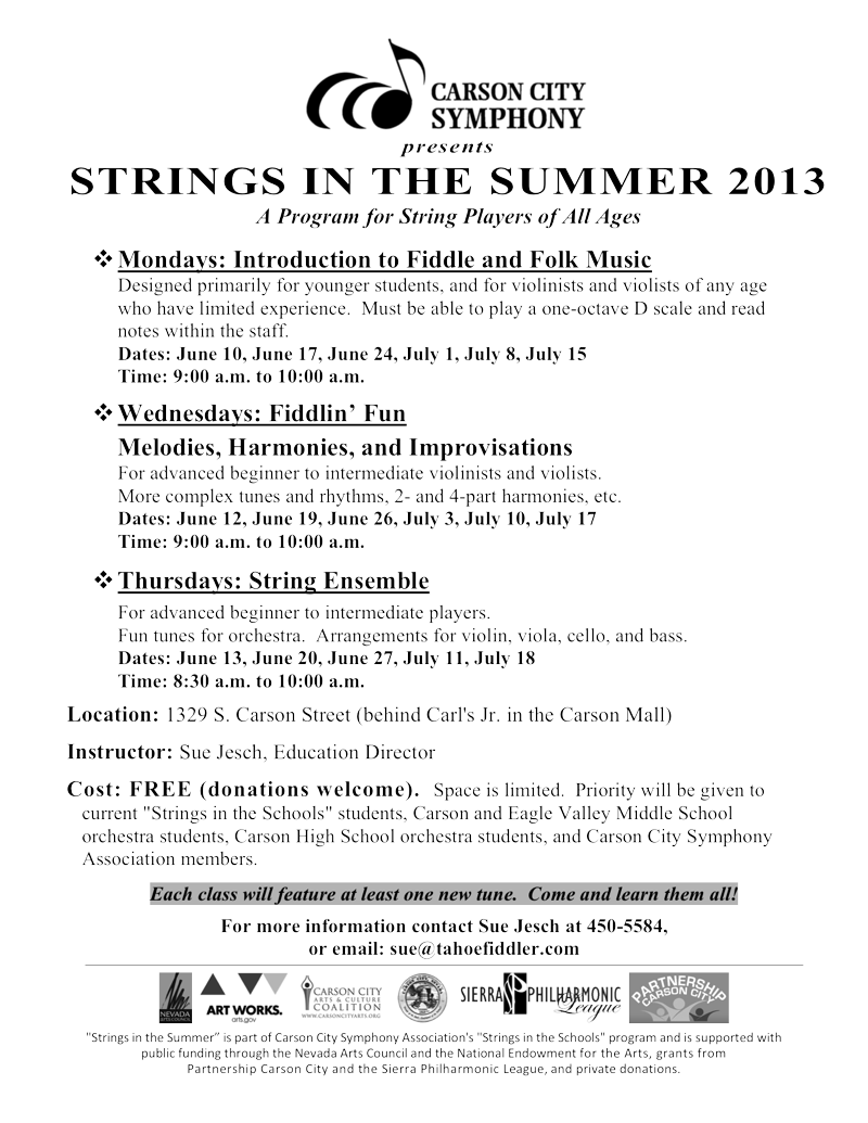 Summer Strings Program