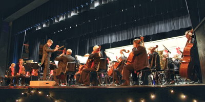 The Symphony at its 2014 Holiday Treat Concert