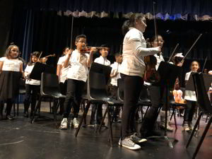 Photo: Symphony Youth Strings at 'Around the World in Music' concert in 2018
