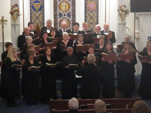 Photograph of Carson Chamber Singers in 2015