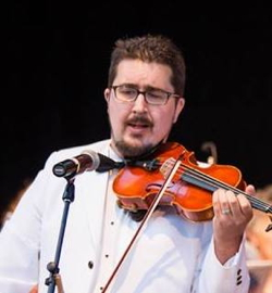 Photograph of Brian Fox, Concertmaster