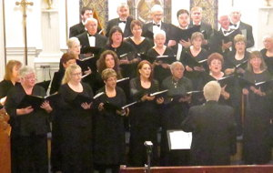 Photograph of Carson Chamber Singers in 2016 performance