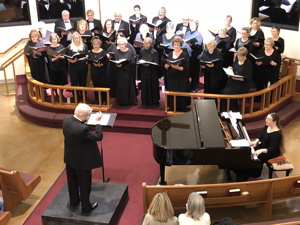 Photograph of Carson Chamber Singers at Shepherd of the Sierra