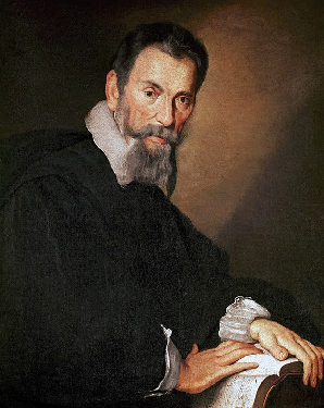 Painting of Monteverdi by Bernardo Strozzi (c. 1630)