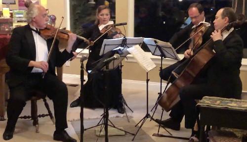 Photograph of Rimsky-Korsakov String Quartet in recital 3/15/2019
