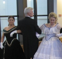 Photograph of Victorian Dancers